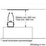 Afzuigunit Bosch DHL555BL