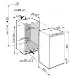 Inbouw koelkast Liebherr IRd 4120 Plus