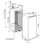 Inbouw koelkast Liebherr IRf 5101 Pure