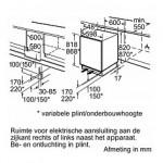 Onderbouw koelkast Bosch KU15LADF0
