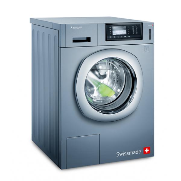 Wasautomaat Schulthess Spirit topLine Pro 9240.1LVY met afvoerklep ext. zeepp. aans. RVS
