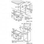 Oven inbouw Bosch HBG317TS0