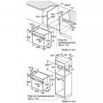 Oven inbouw Bosch HBG378TS0