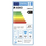 Warmtepompdroger ASKO T408HD.W wit