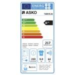 Warmtepompdroger ASKO T409HS.W wit